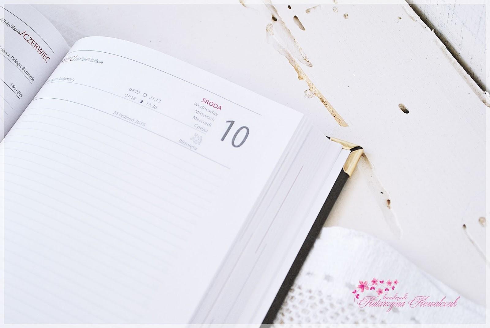Kalendarz na 2015 rok scrapbooking