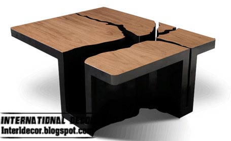Creative and unusual table designs and table models for Creative design table