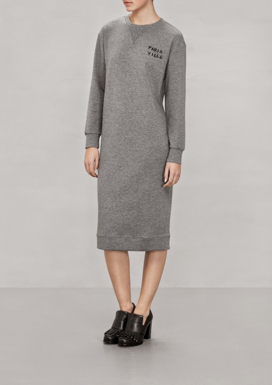 stories grey dress