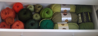 Niccupp Crochet's Green Yarn Drawer