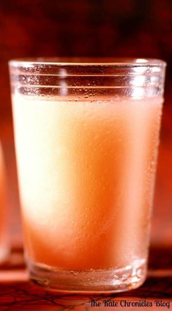 Grapefruit Vinegar Honey Drink