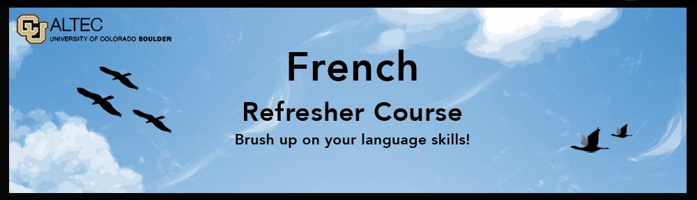 Cours de français d'été