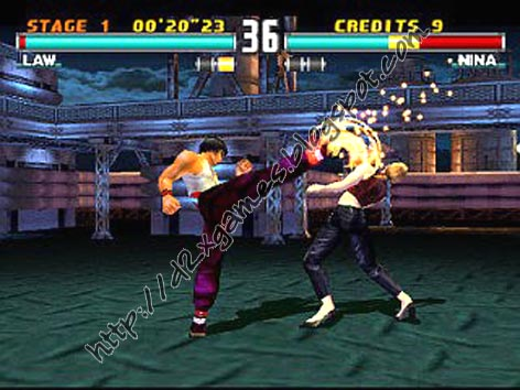 Free Download Games - Tekken 3