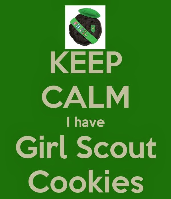 girl scouts troop 81423 girl scouts   cookie booth posters