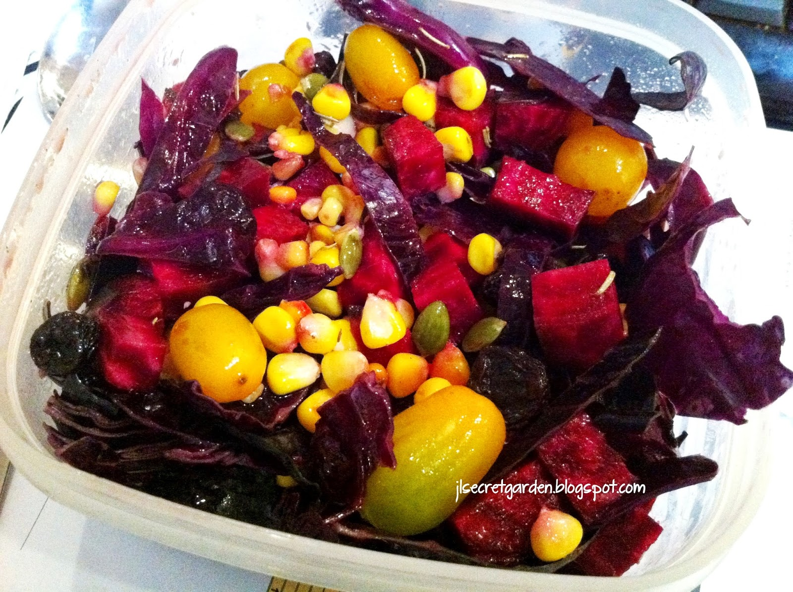 七彩有機沙律 Colorful Garden Salad