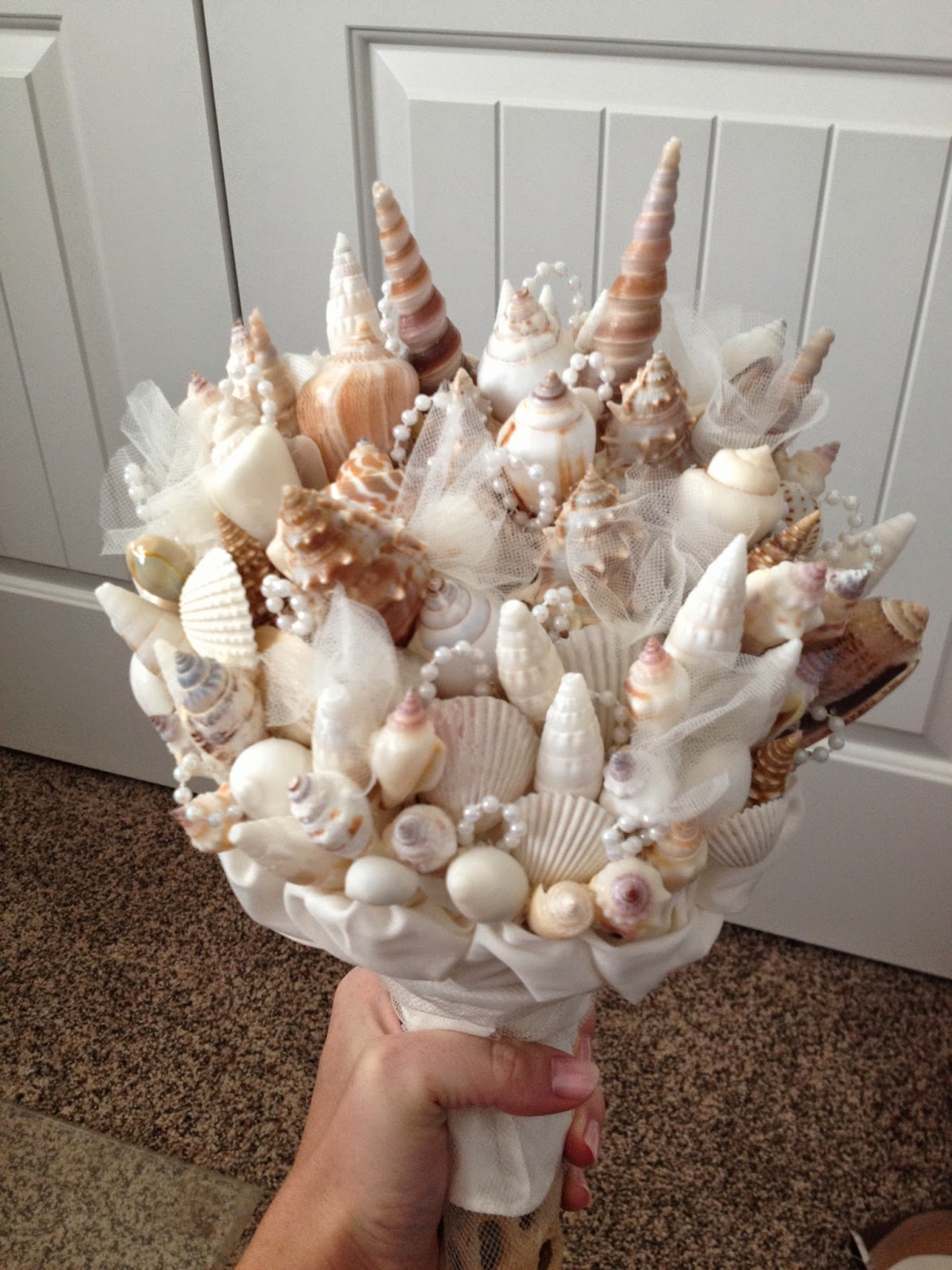 Livingston Way Seashell Bouquet Tutorial