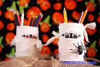 Tự chế đồ chơi Halloween