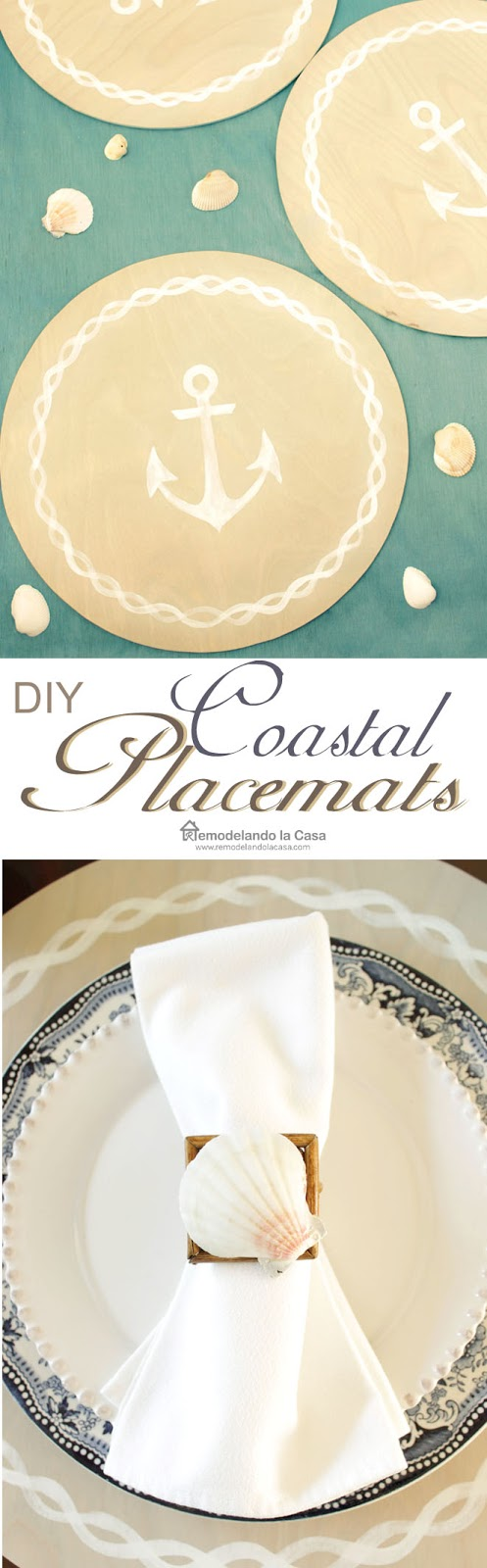 how to make placemats out of wood