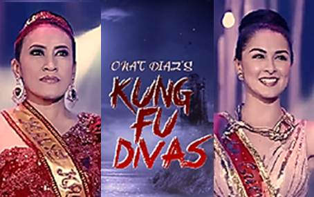 Marian and Ai Ai in action comedy adventure Kung Fu Divas