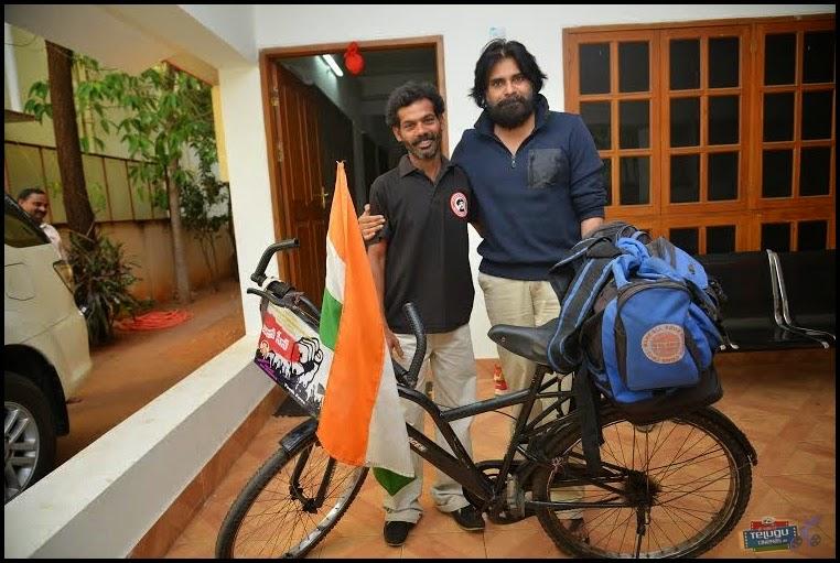 Pawan Kalyan with Addanki Ravi pictures,Telugucinemas