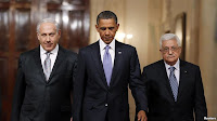Barack Obama, Benjamin Netanyahu, &amp; Mahmoud Abbas