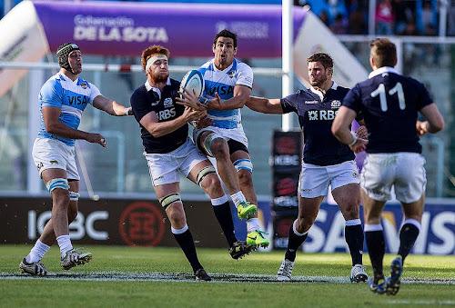 Los Pumas cayeron ante Escocia