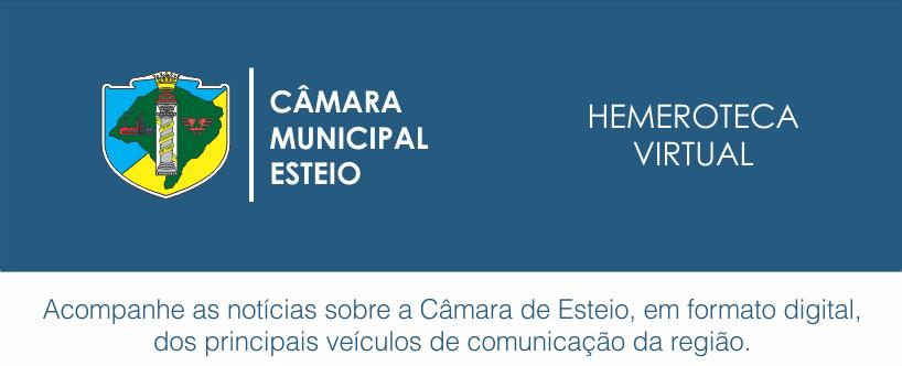 Hemeroteca Virtual | Câmara Municipal de Esteio