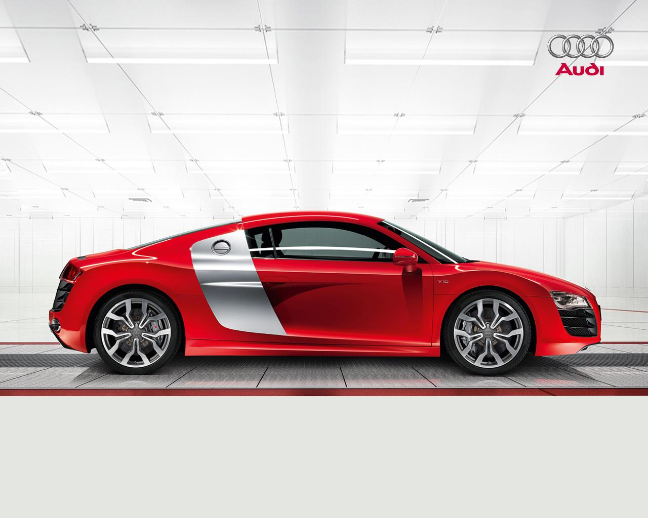 Hd Car Wallpapers Red Audi R8 Wallpaper