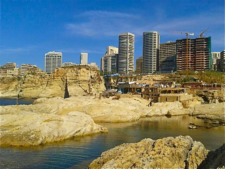 Picture of Beirut Raouché