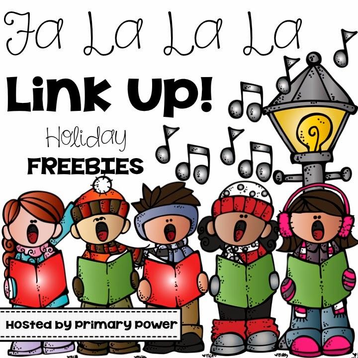 http://primarypowers.blogspot.com/2014/12/fa-la-la-la-link-up-holiday-freebies.html