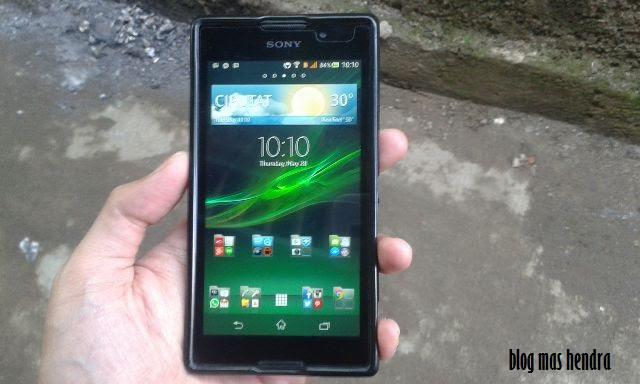 Sony Xperia C Warna Hitam - Blog Mas Hendra
