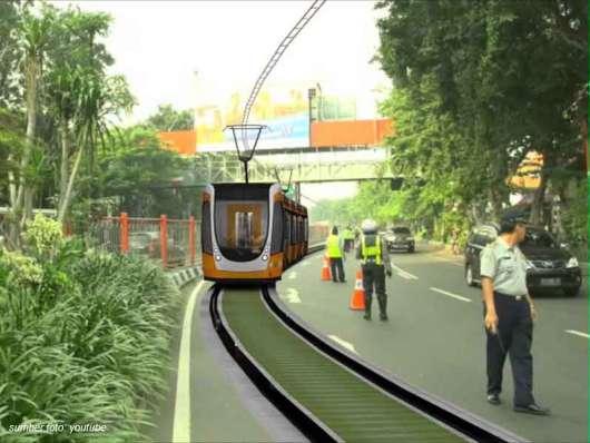 Surabaya Siapkan Trem Sebagai Alat Transportasi Alternatif