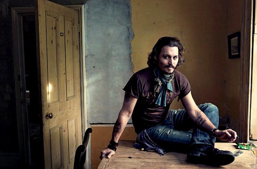 johnny depp tattoos 2011. Johnny Depp 2011 Wallpapers