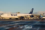 MAN 21st April 2013Air Blue A340 makes a daylight arrival. (ap edfaa)