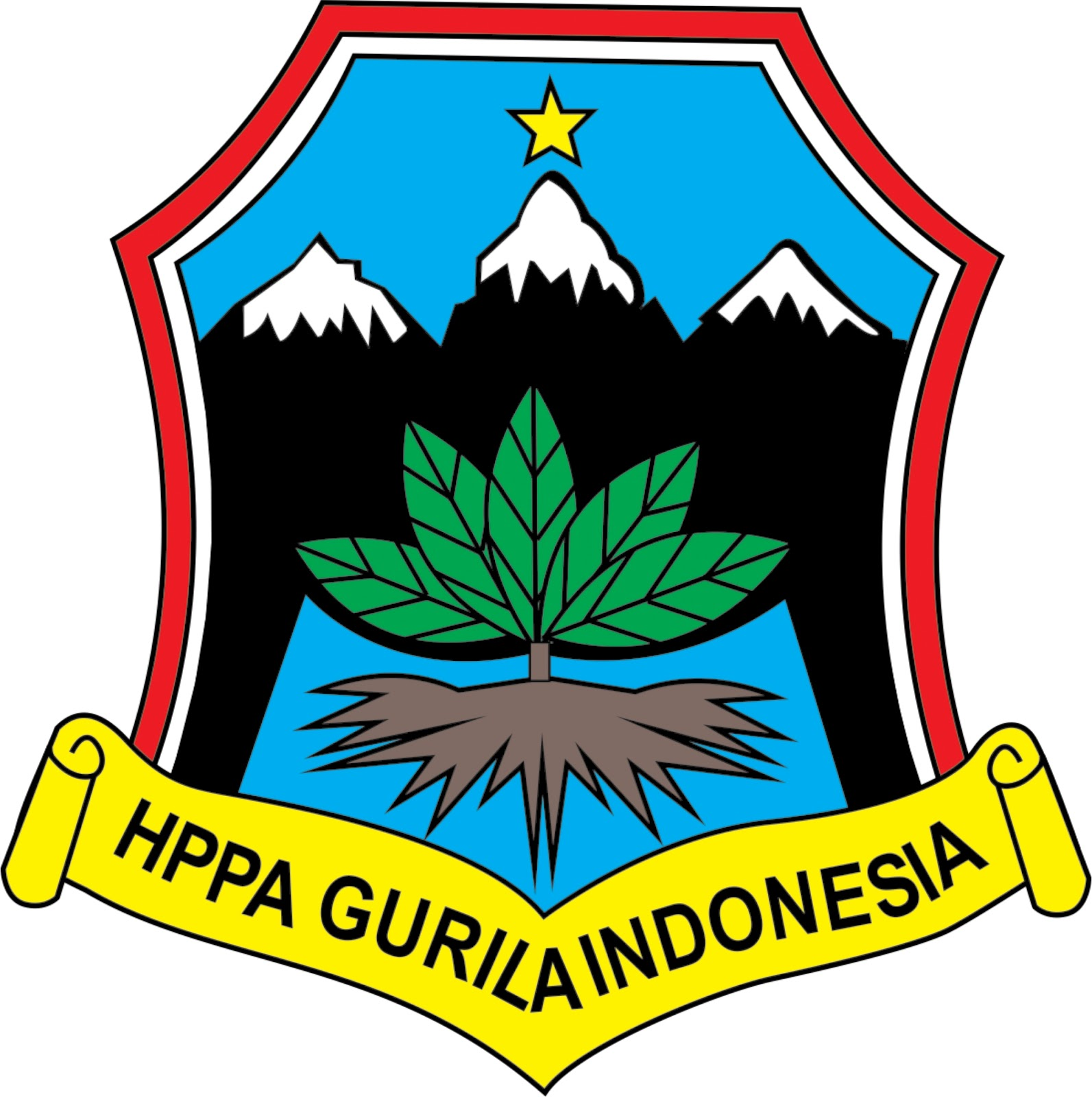 logo pecinta alam hppa gurila indonesia