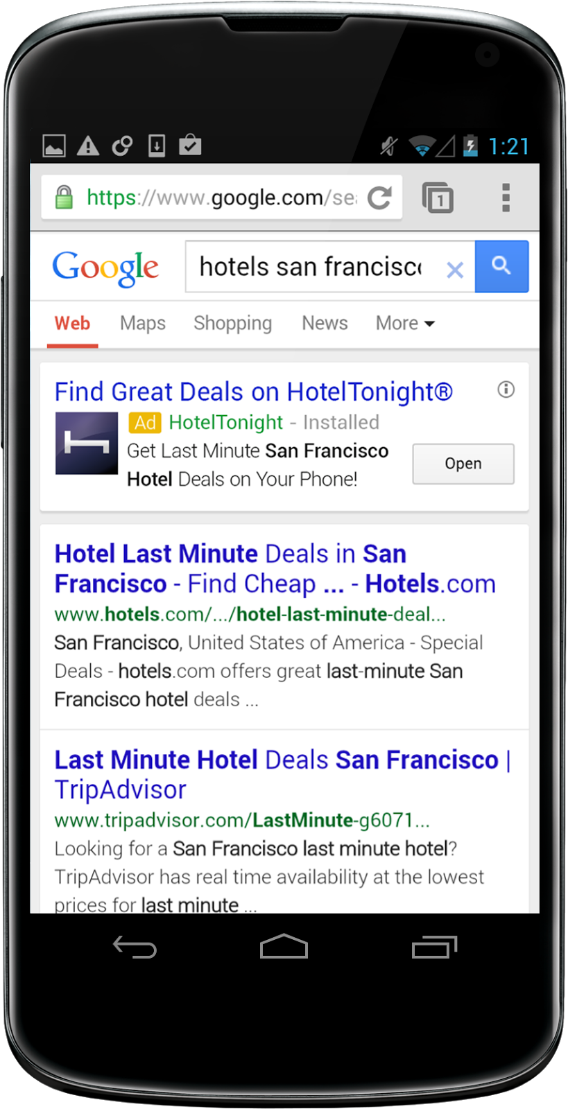 Google App Installs Ads