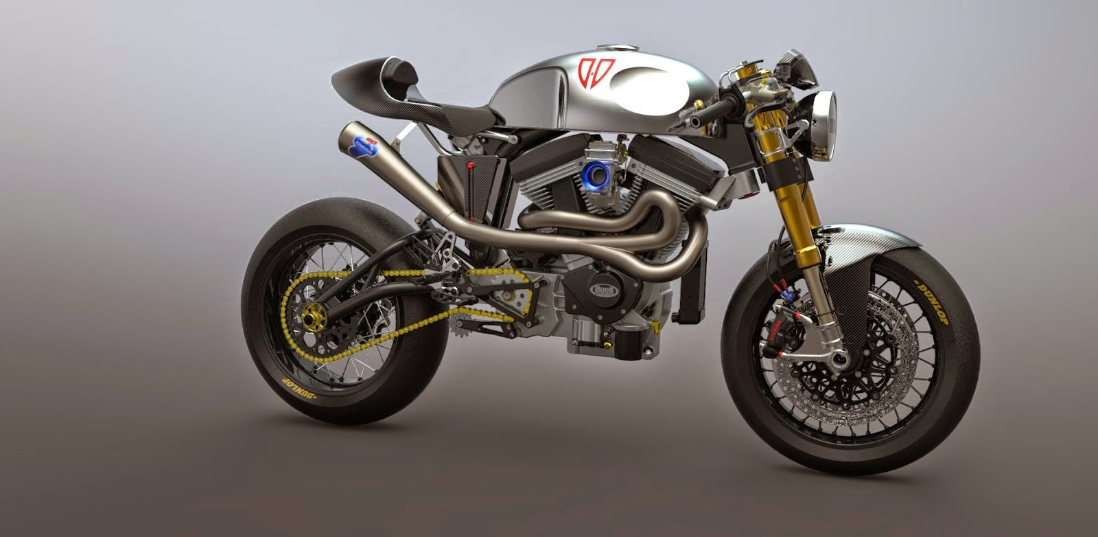Buell Cafe Racer Concept Grease N Gas