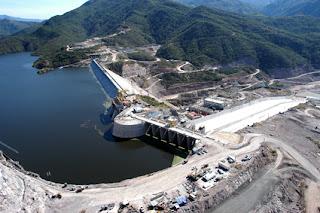 represas hidroelectricas
