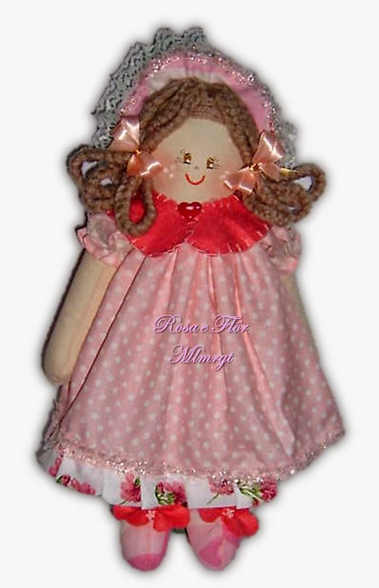 Boneca de pano 43 cm