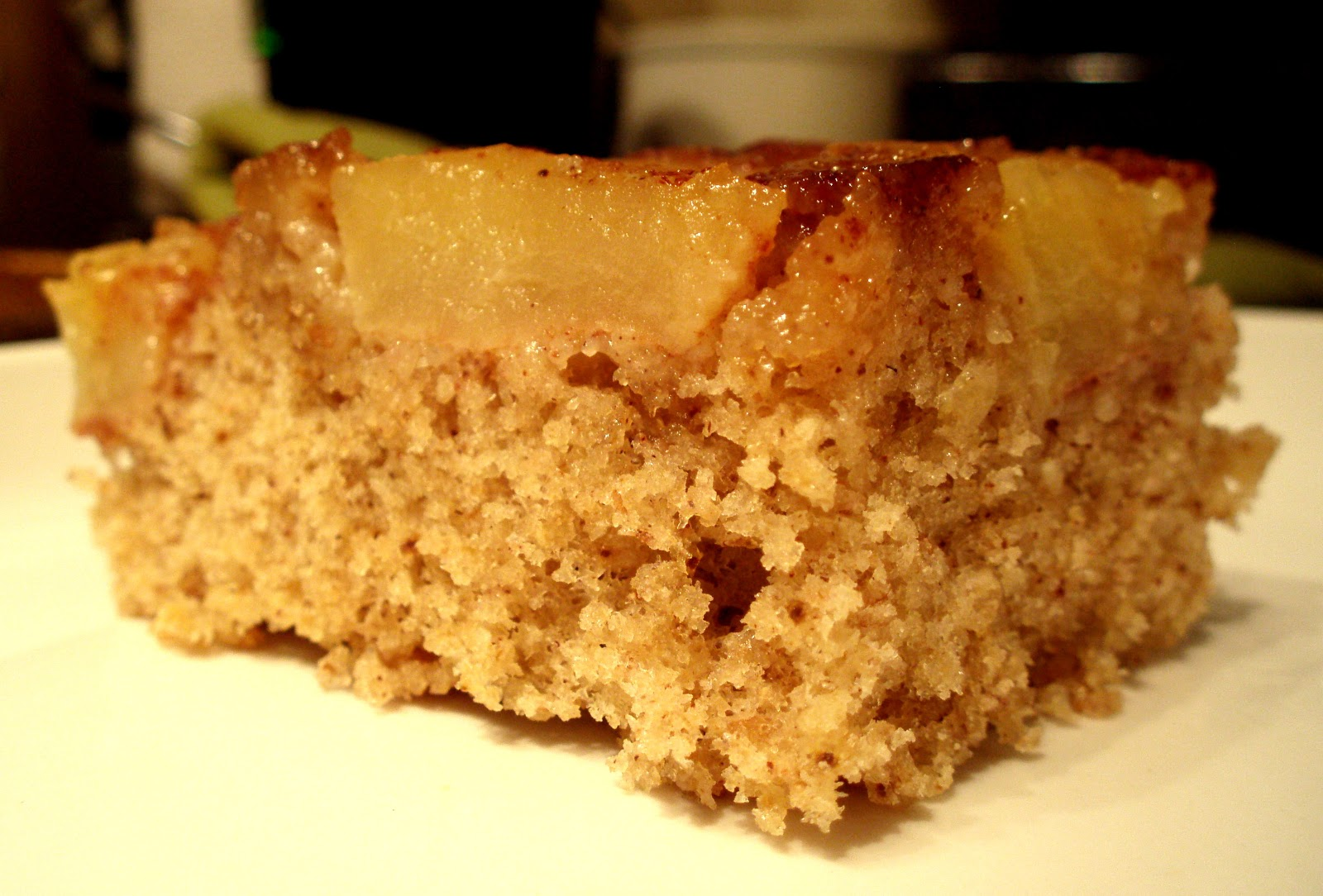 bring a little bread: apple-cardamom upside down cake