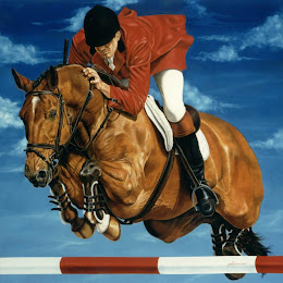 الخيول في لوحات رسم