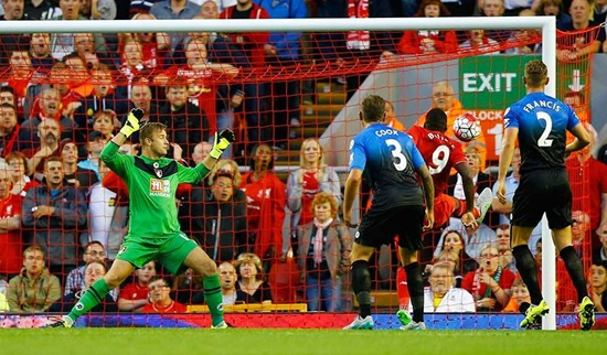 Liverpool 1 x 0 Bournemouth - Premier League 2015/16