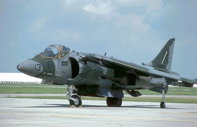 Sjt fighter Harrier II