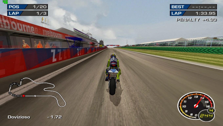 Download Game Moto GP 3 URT Full Versi PC Update Rider 2013 | Mari Belajar Bersama