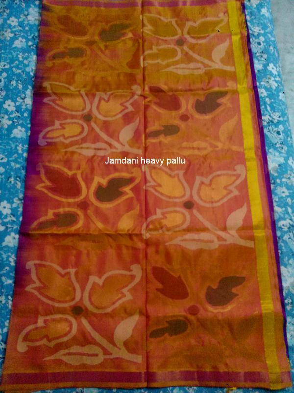 Jamdani heavy pallu
