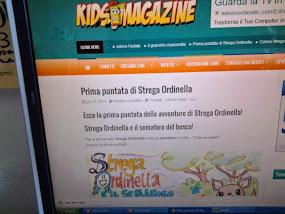 Strega ordinella è anche su Kids magazine!