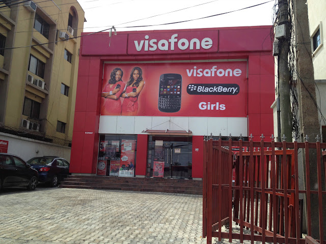Visafone Blackberry Girls