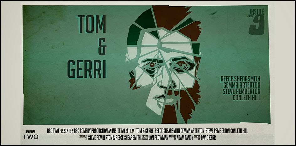 Inside No 9 - Tom & Gerri poster - by Reece Shearsmith and Steve Pemberton