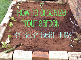 how to organize your garden