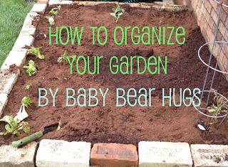 how to organize your garden