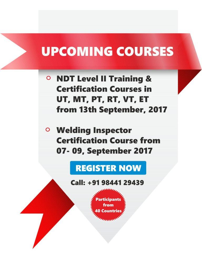 Upcoming Training Schedules - Sept 2017