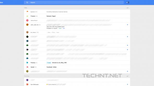 ( بالصور ) جوجل تختبر واجهة جديدة لـ Gmail