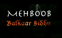 Video & Lyrics: Balkar Sidhu - Mehboob Official Song HD