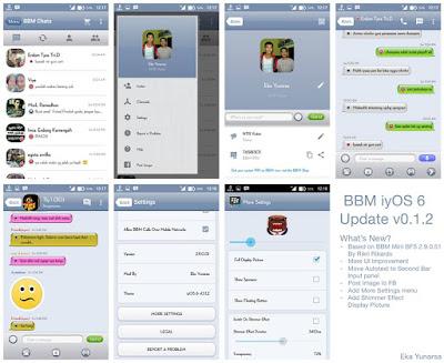BBM Mod iyOS 6 v0.1.2 (BBM Mini BFS 2.9.0.51)