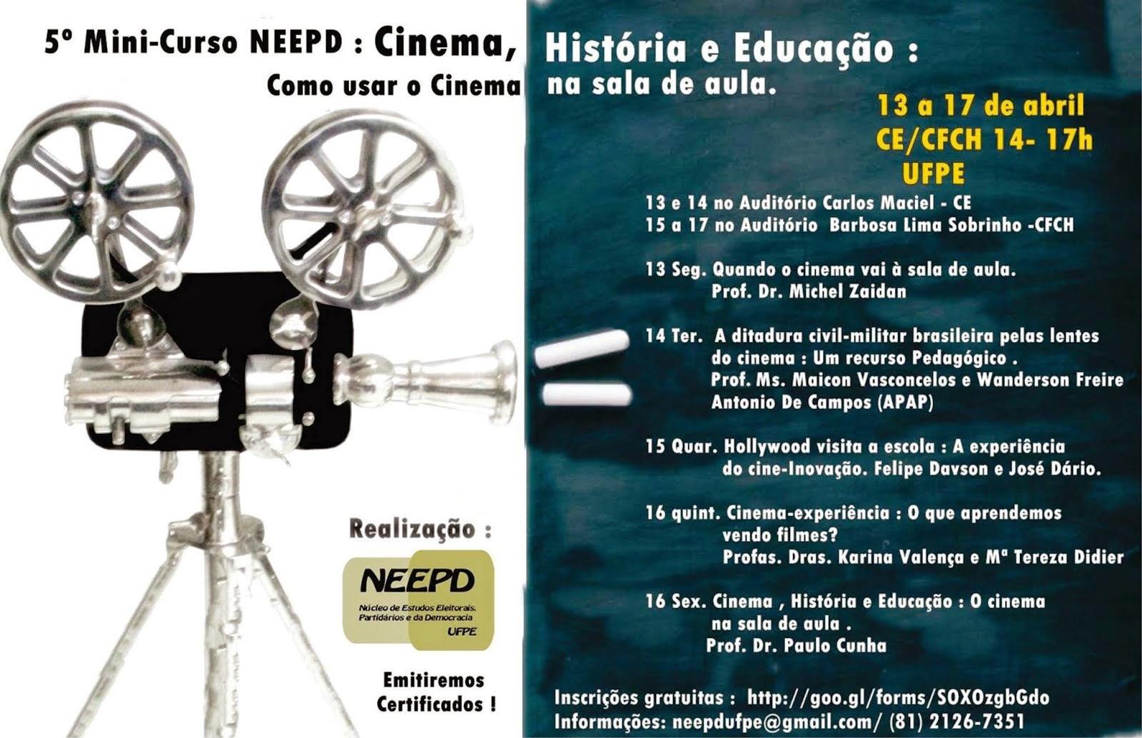 NEEPD: COMO USAR O CINEMA NA SALA DE AULA