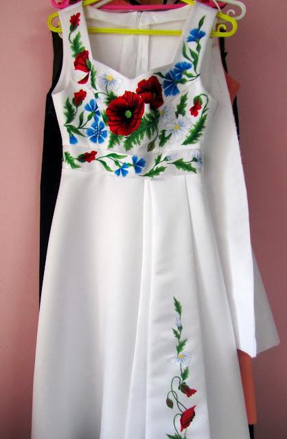 Вишите плаття від Руслани Равлюк з Бучача на Тернопільщині