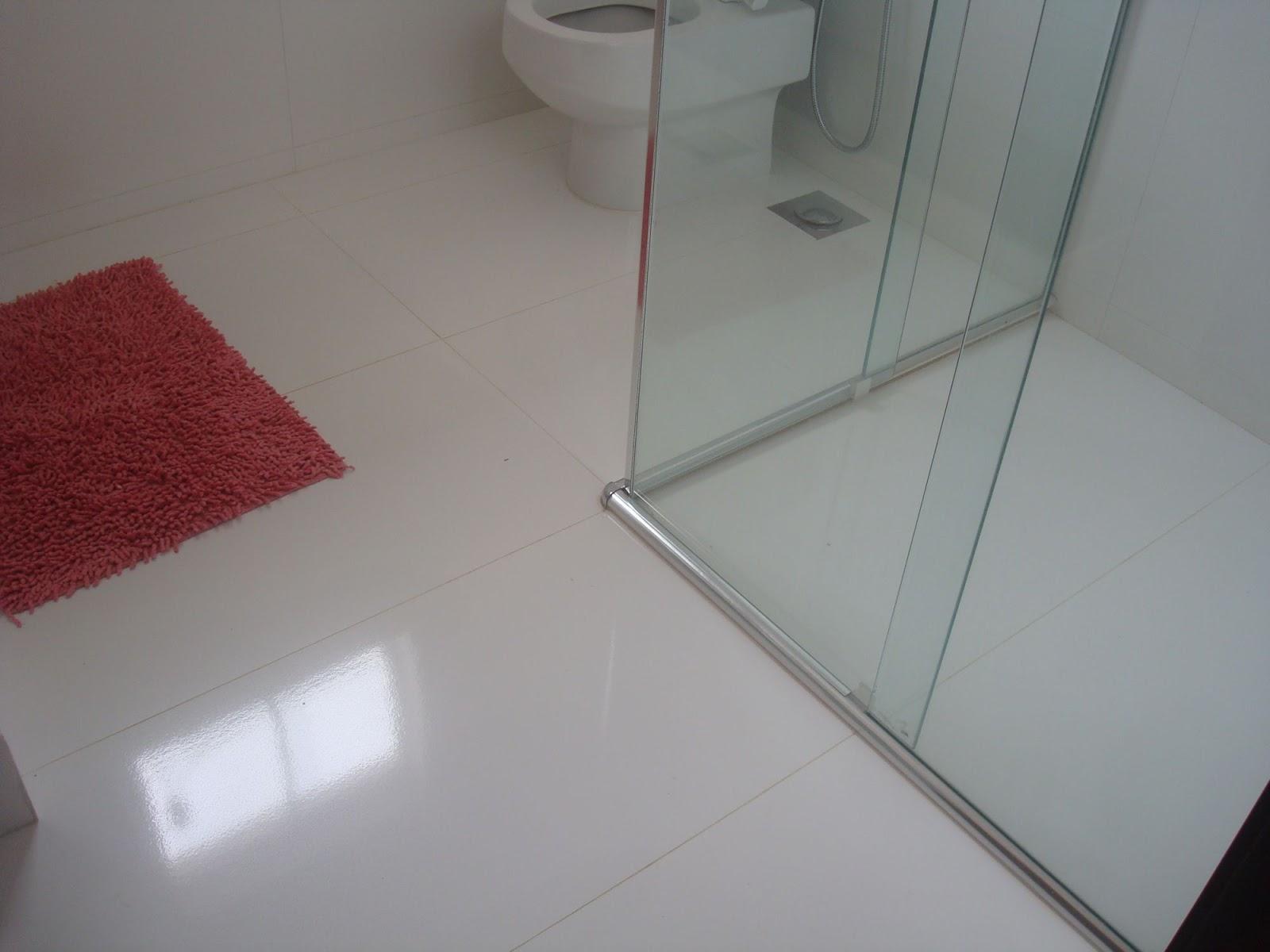 Então por hoje é isso e no próximo post tem mais revestimento! #64272A 1600x1200 Banheiro Branco Como Limpar