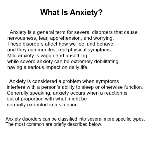 Anxiety  definition of anxiety by The Free Dictionary