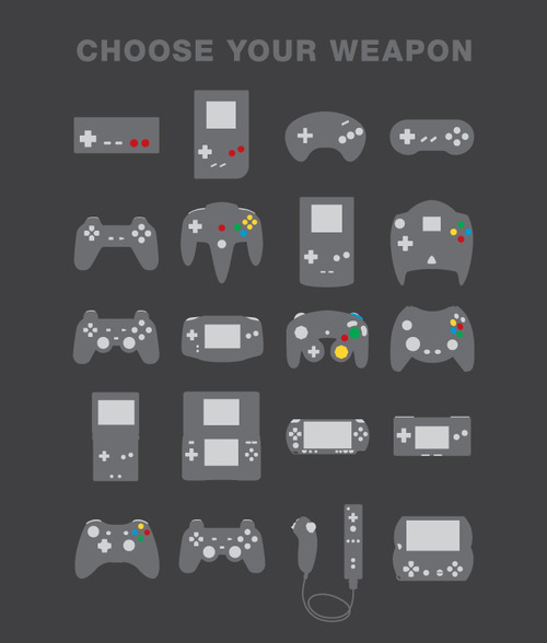 Gamepad - Choose Your Weapon
