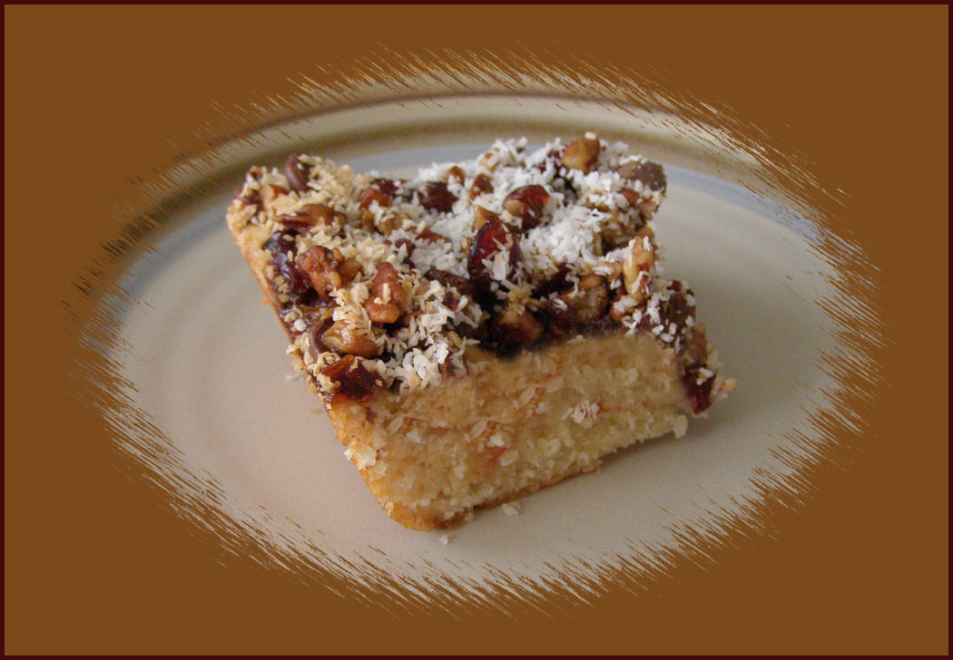 Vegan Dessert: Gooey Goodie Bars